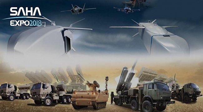 معرض الصناعات الدفاعية في إسطنبول SAHA EXPO 2018