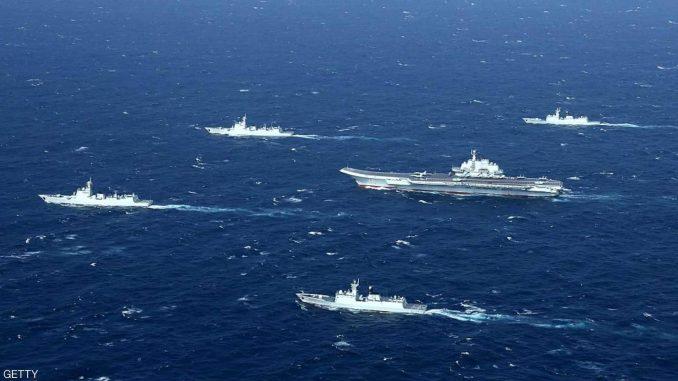 مناورات عسكرية بين الصين وآسيان