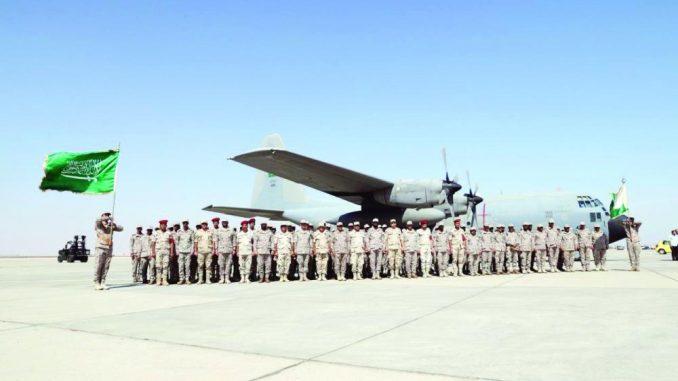 انطلاق التمرين السعودي ـ المصري المشترك تبوك 4 في قاعدة سفاجا البحرية في مصر في 8 تشرين الأول/ أكتوبر 2018