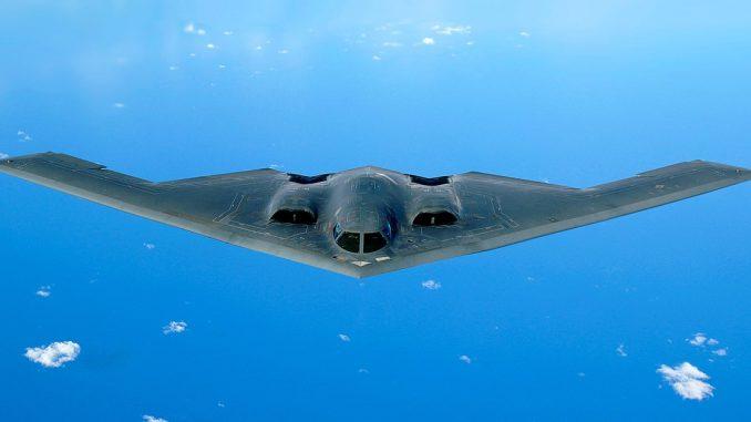 مقاتلة B-2 الشبح من إنتاج شركة Northrop Grumman الأميركية (صورة أرشيفية)