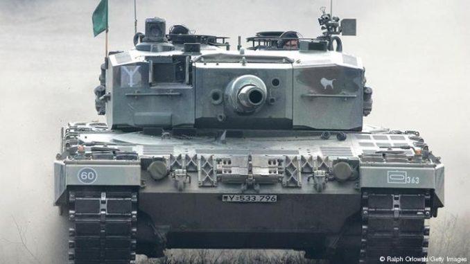 دبابة ألمانية (صورة أرشيفية)