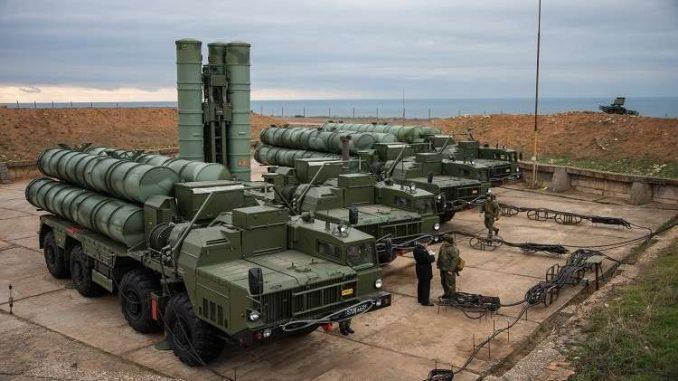 منظومات الدفاع الجوي الروسي من طراز إس-400