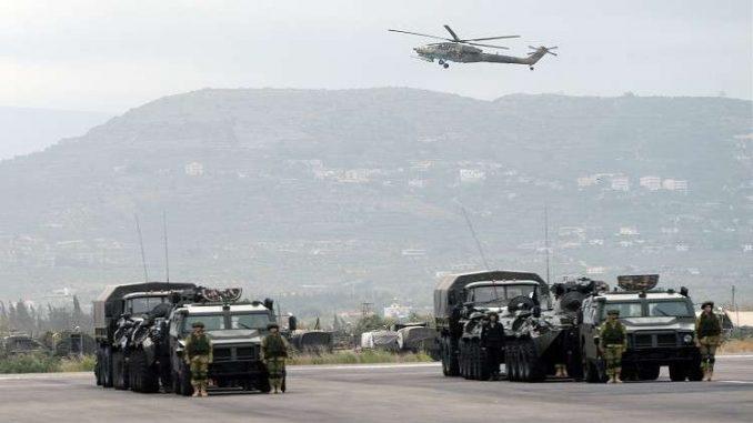 قاعدة حميميم الروسية في سوريا (صورة أرشيفية)