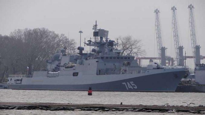 فرقاطة روسية من مشروع 11356