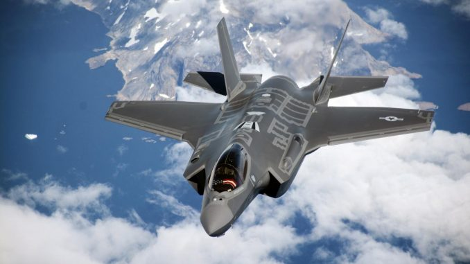 مقاتلة إف-35 الأميركية من إنتاج شركة Lockheed Martin (صورة أرشيفية)