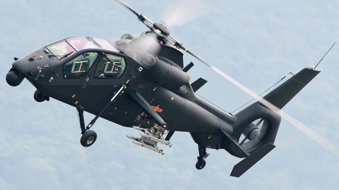 المروحية الصينية المسلحة Z-19 A (صورة أرشيفية)