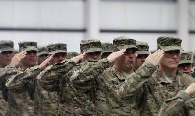 عناصر من القوات المسلّحة الأميركية