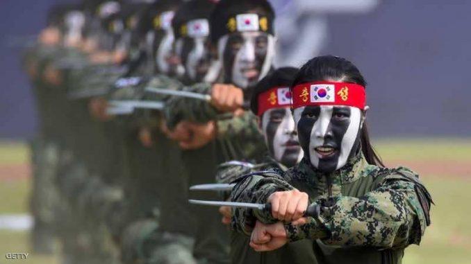 عناصر من جيش كوريا الجنوبية (صورة أرشيفية)