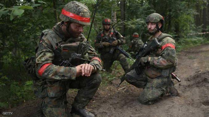 """قوات الجيش الألماني المعروفة بالـ""""بوندسوير"""" (صورة أرشيفية)"""