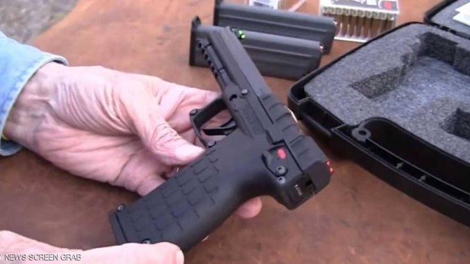 """المسدس الأميركي """"كيل تيك-بي أم آر 30"""" الذي يمثّل ثورة في تكنولوجيا الأسلحة النارية، ويراه خبراء """"أكثر الأسلحة الشخصية فتكاً"""" على الإطلاق (سكاي نيوز عربية)"""