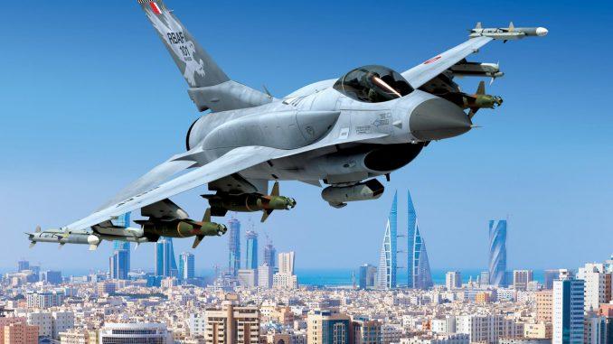 مقاتلة أف-16 بحرينية