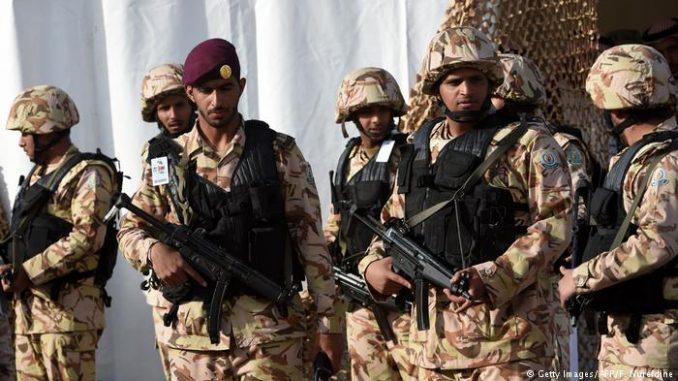 عناصر من القوات المسلّحة السعودية