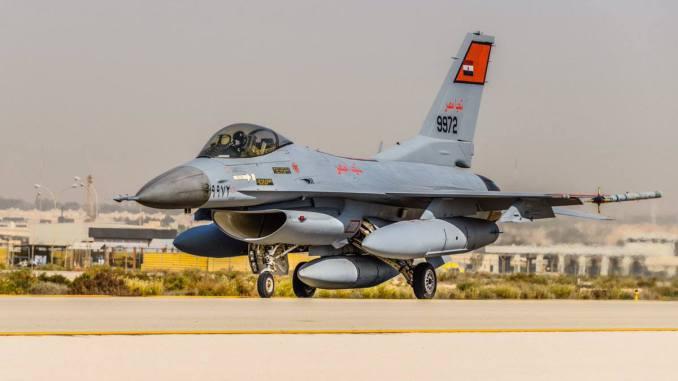 مقاتلة أف-16 بلوك 40 مصرية (بوابة الدفاع المصرية)
