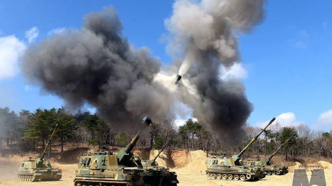 مدفع الرعد K9 Thunder الكوري الشمالي (بوابة الدفاع المصرية)