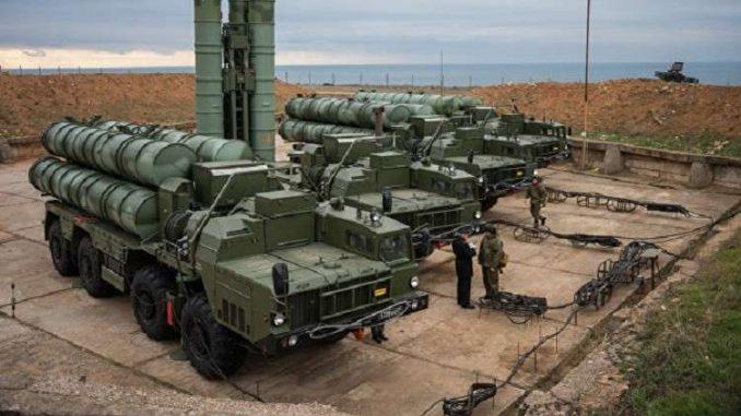 منظومة صواريخ إس-400 الروسية للدفاع الجوي