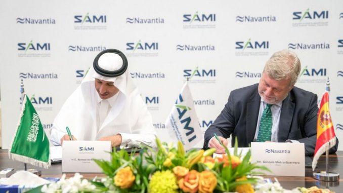 السعودية للصناعات العسكرية و نافانتيا الإسبانية تطلقان مشروع سامي نافانتيا للصناعات البحرية