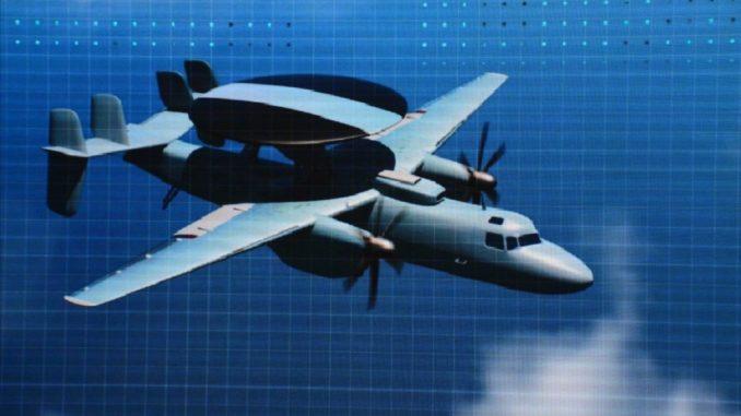 طائرة الإنذار المبكر الصينية KLC-7 AEW