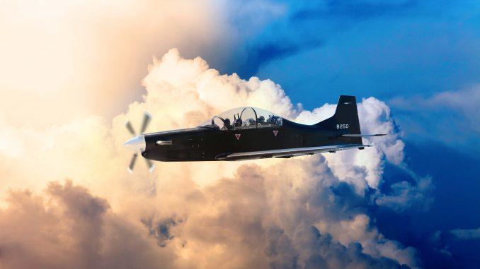 طائرة الهجوم الخفيف B-250 (موقع شركة Calidus)