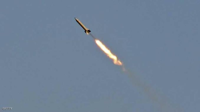 إطلاق صاروخ في سوريا (سكاي نيوز)