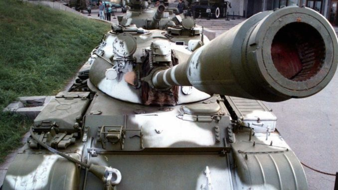 دبابة تي-55 (صورة أرشيفية)