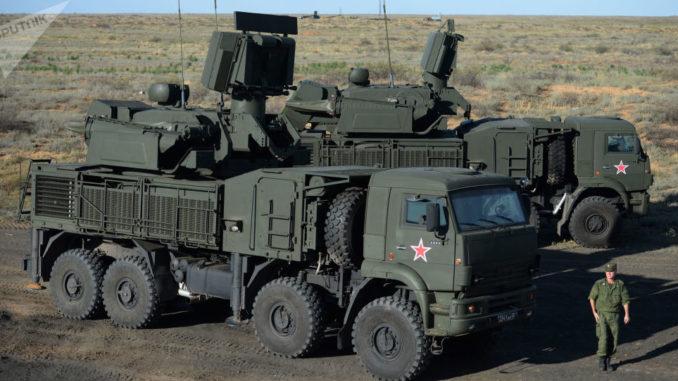 منظومة بانتسير إس-1 للدفاع الجوي الروسية (صورة أرشيفية)