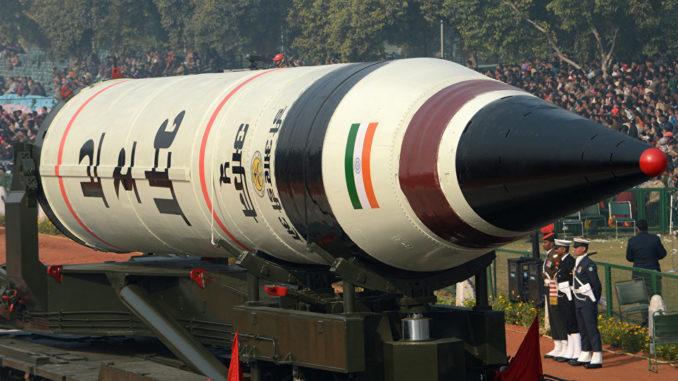"صاروخ بالستي عابر للقارات هندي من طراز ""آغني-5"""