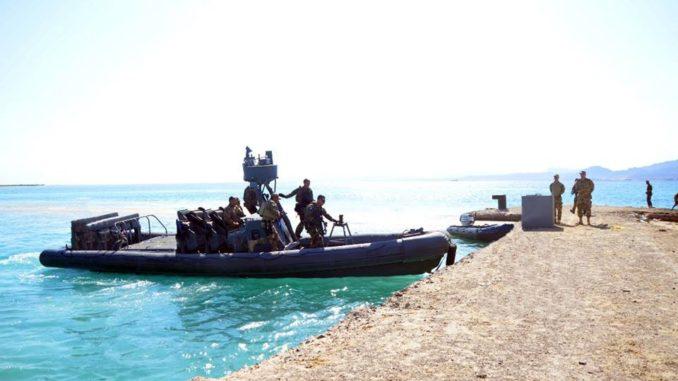 مناورات بحرية مشتركة بين الجيشين المصري والفرنسي