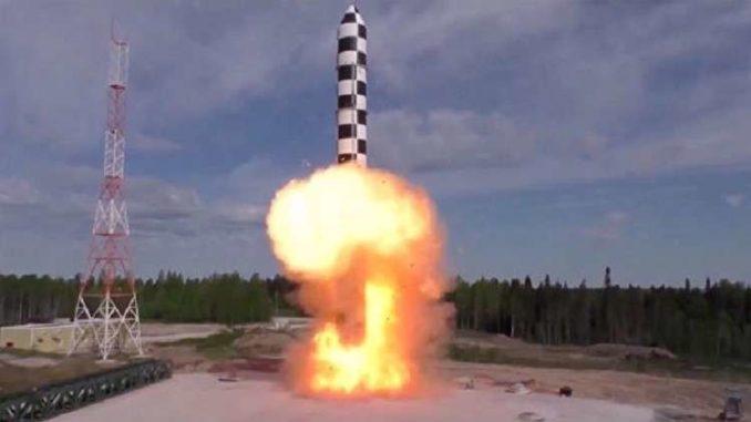 """صاروخ""""سارمات"""""""