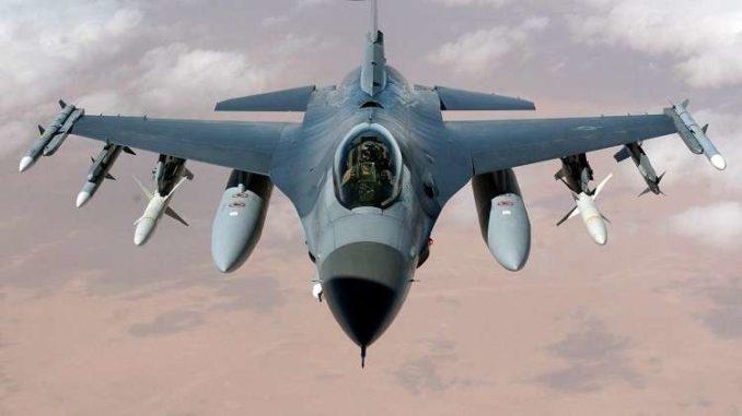 مقاتلة إف-16 الأميركية (صورة أرشيفية)