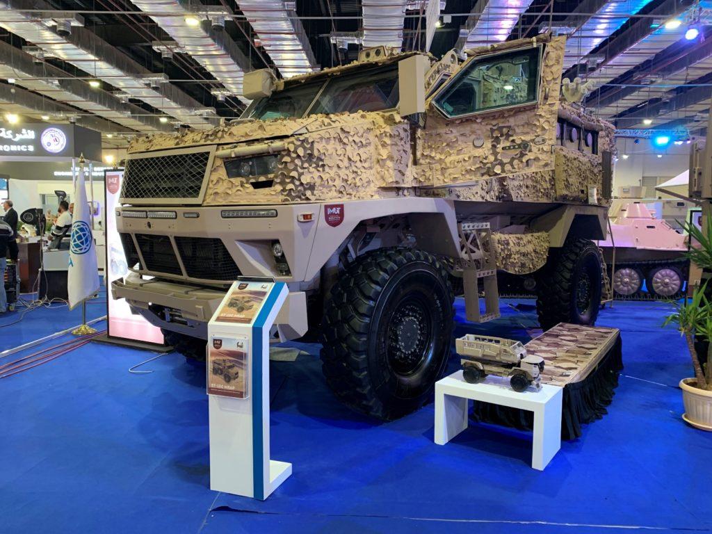 المركبة ST-100 المصرية خلال معرض إيدكس 2018 (الأمن والدفاع العربي)