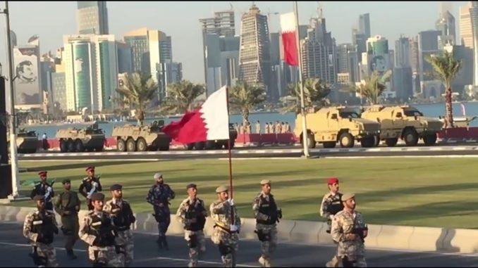 العيد الوطني القطري خلال عام 2017 (صورة أرشيفية)