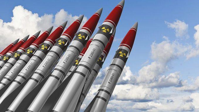 صورة لصواريخ نووية