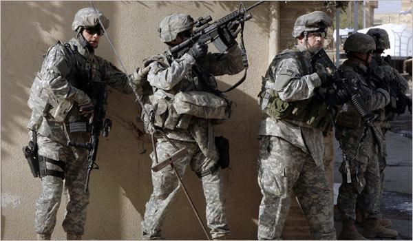 القوات المسلحة الأميركية
