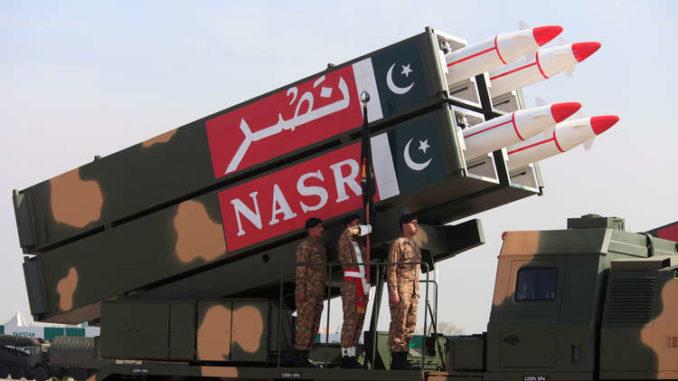 """صاروخ """"نصر"""" الباكستاني"""