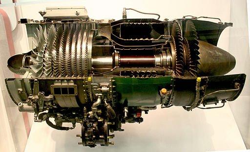 محرك J85-Turbojet