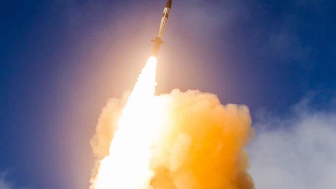 صاروخ SM3 IIA