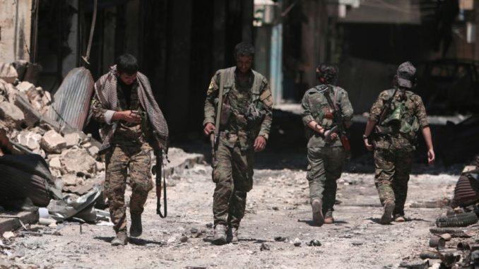 قوات سوريا الديمقراطية