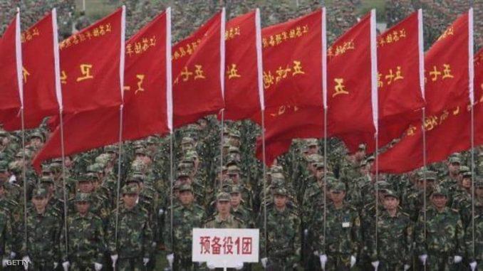 الإنفاق العسكري الصيني