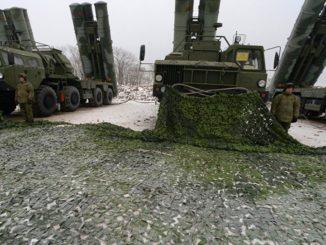 منظومة الدفاع الجوي الروسية إس-400