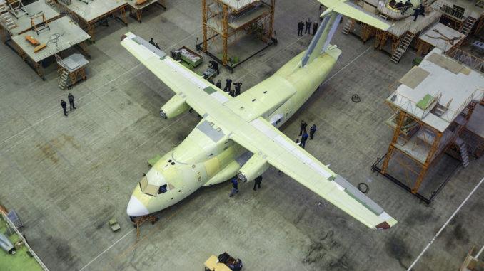 طائرة إيل 112 الروسية