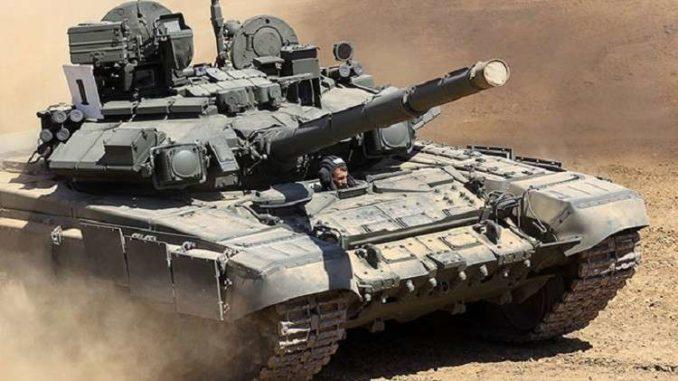 """دبابة """"تي - 90"""""""
