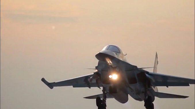 """قاذفة روسية من طراز """"سو-34"""""""