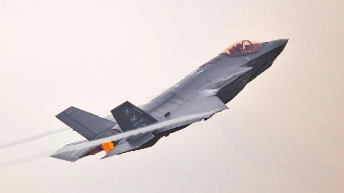 مقاتلة أف-35 الأميركية