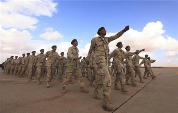 القوات المسلحة الليبية