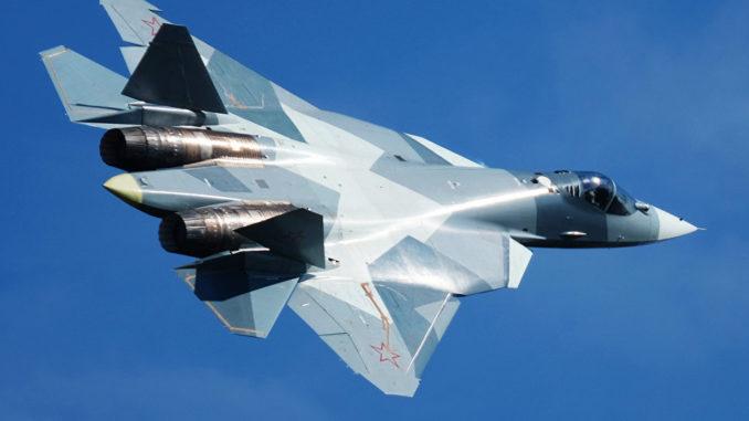 """مقاتلة """"سو-57"""" الروسية"""