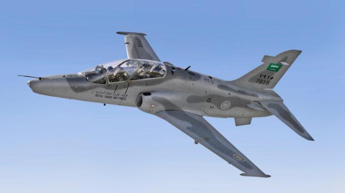 طائرة التدريب السعودية من طراز Hawk