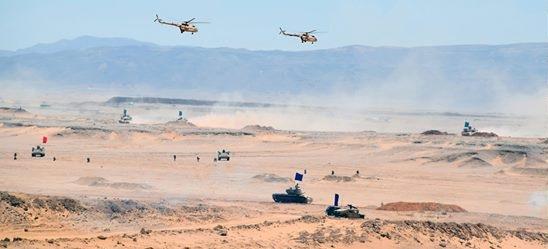 الجيش المصري   الجيش المصري يؤكد تزويد جنوده بأحدث الأسلحة