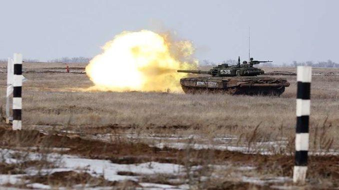 """دبابة سلاح المظليين الروس """"تي-72 بي 3"""""""