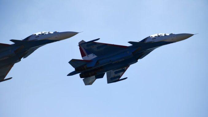 """مقاتلات """"سو-30"""" الروسية"""