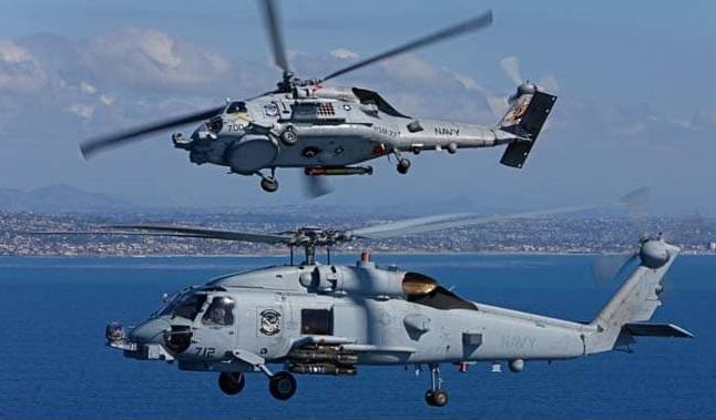 مروحية MH-60R Sea Hawk من إنتاج سيكورسكي